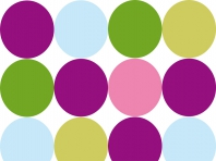 Coloured Circles 03