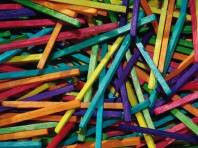 Coloured Sticks
